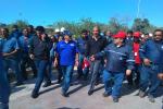 Masa trabajadora propone soluciones para incrementar la producción de cemento