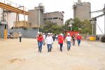 Planta Guayana recibió al G/D Moreno Gudiño y a Directores Generales de la CSC